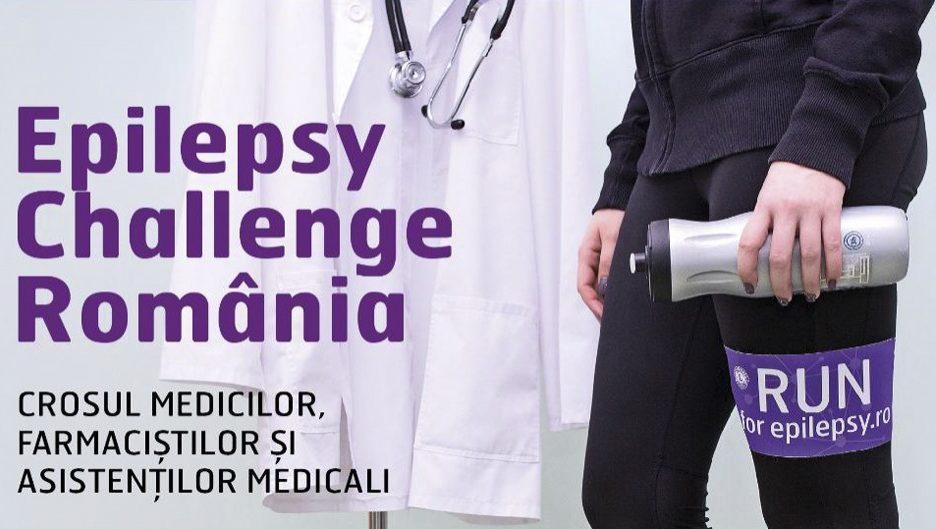 """Donează şi aleargă în cadrul Crosului """"Epilepsy Challenge"""""""